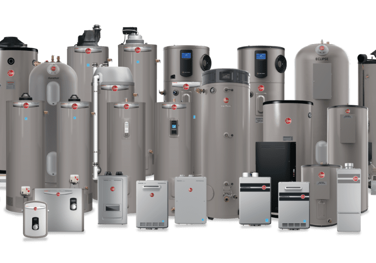 Rheem Residential-Commercial WH Product-Group A